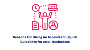 Reasons For Hiring An Accountant   Guidelines for Small Businesses