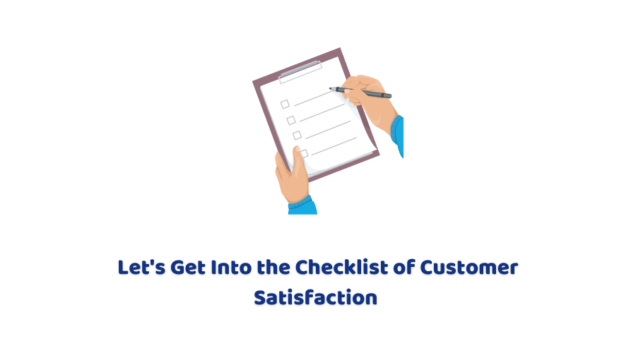 customer satisfaction checklist