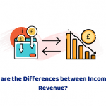 difference between revenue and income
