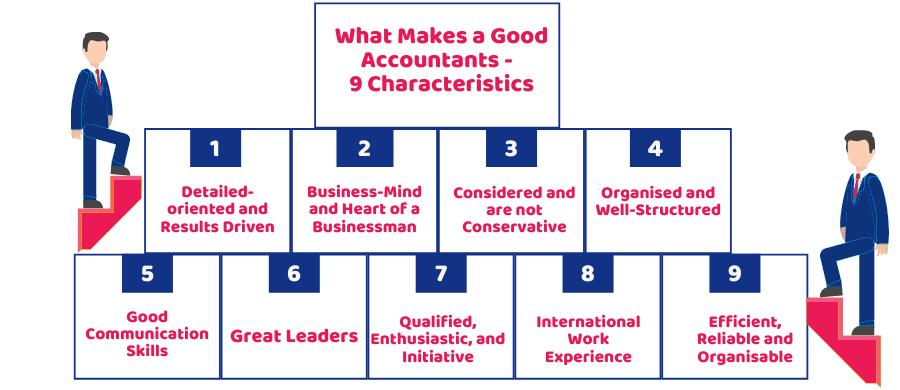 Characteristics of good accountants