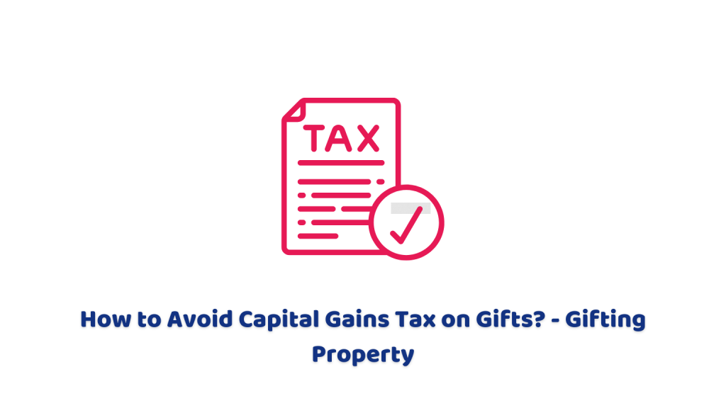 paying capital gains tax on gifts