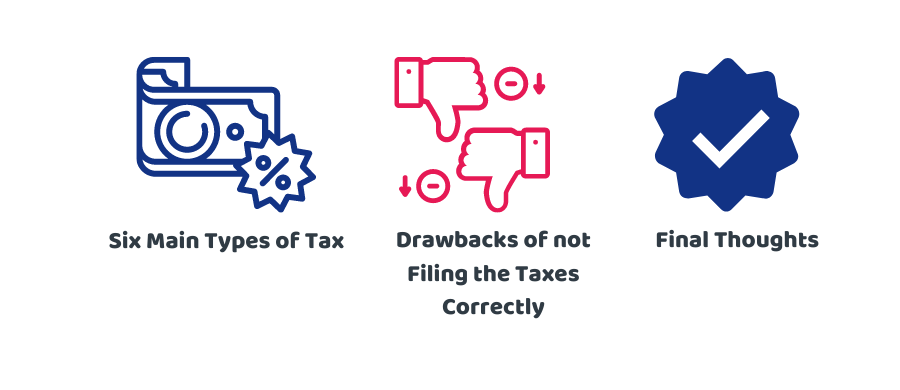 types of taxes in the UK