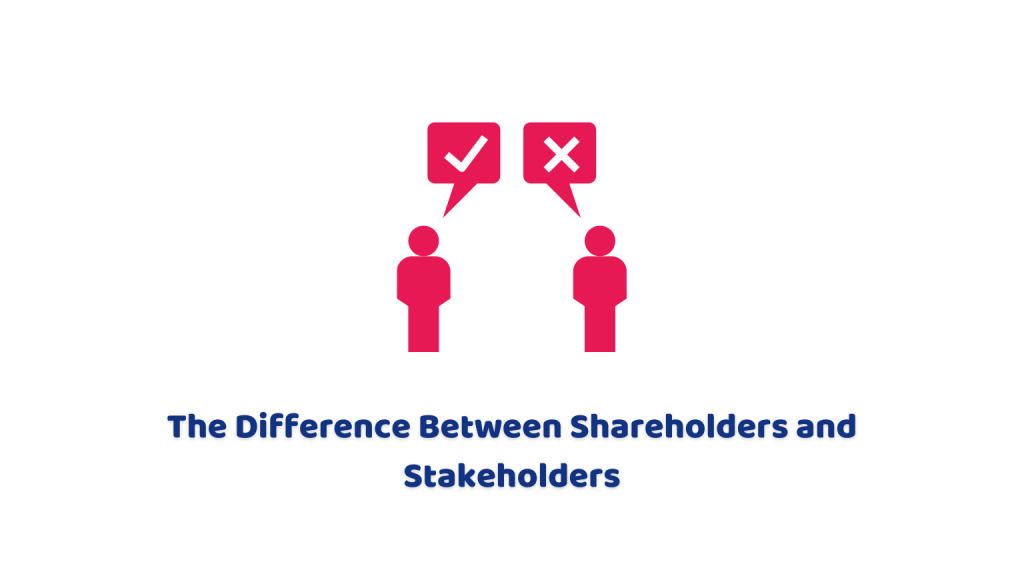shareholders and stakeholders